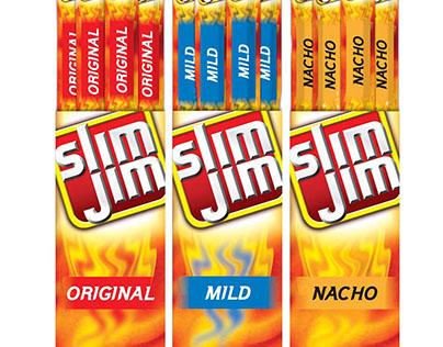 Slim Jim - packaging redesign