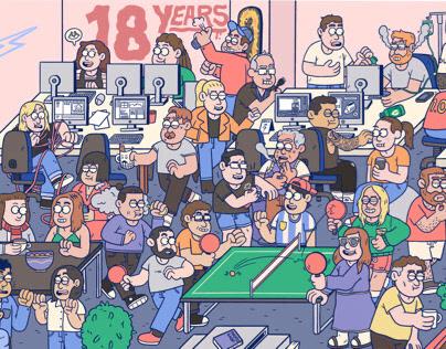 18 Years of Amplifier - Work