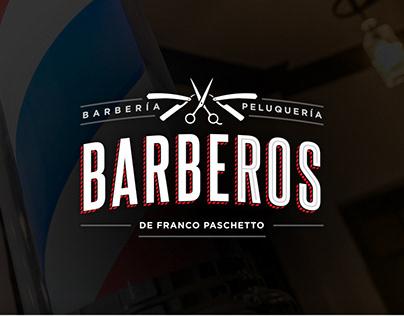 Barberos - Branding + Web