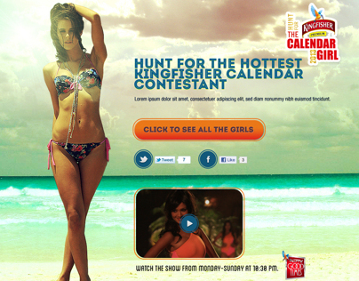 Kingfisher Calendar Girl Hunt 2013