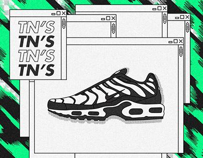 Nike Sneakers Series.