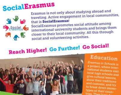 SocialErasmus Flyer