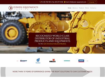 Propuesta / Mockup: Power Equipments