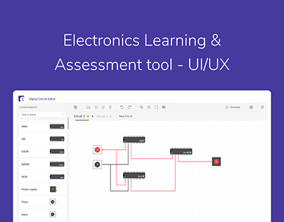 Electronics Learning & Assessment tool