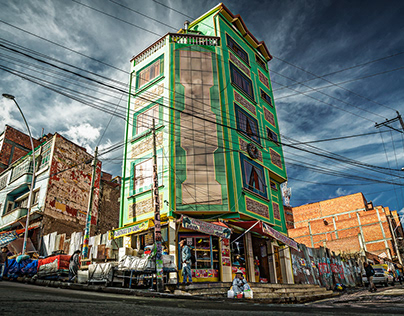Postales de La Paz (Bolivia)