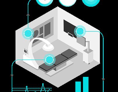 Visualisation for hospitals
