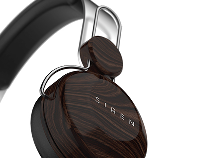 SIREN - Modular Headphone concept.