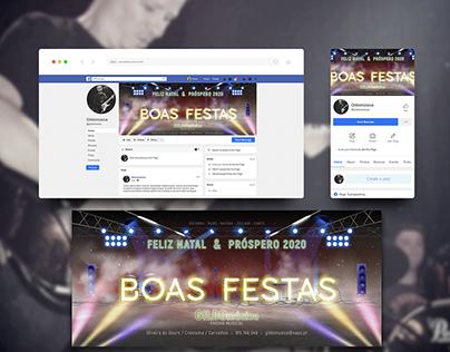 GILDO música :: banner Boas festas 2019