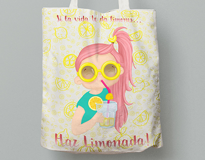 "Bag design ""Limonada"""