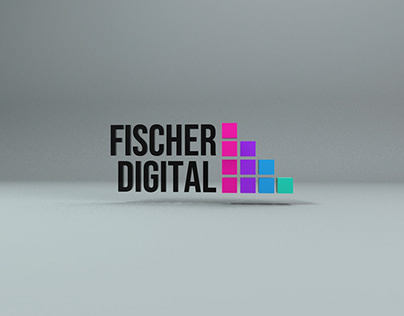 Fischer Digital Agency - Animación 3D Logo