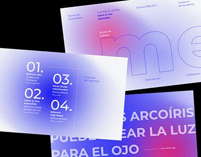 Tipografía y ediciones