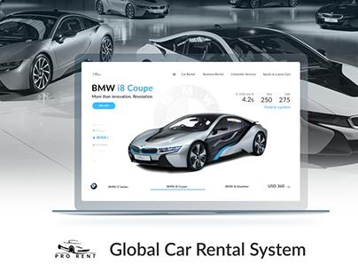 Global Car Rental System