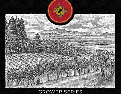 Wilson Wine Labels Illustrated by Steven Noble