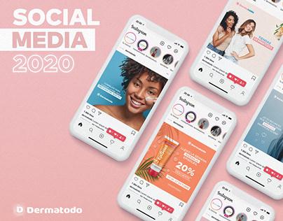 Social Media 2020: Dermatodo