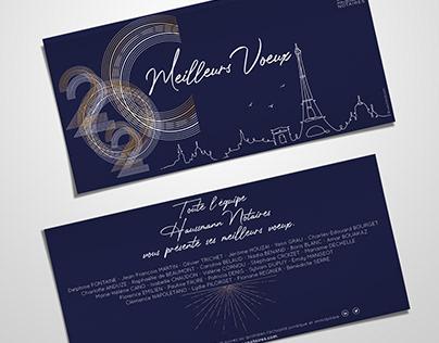 WISH CARD - Hausmann Notaires PARIS