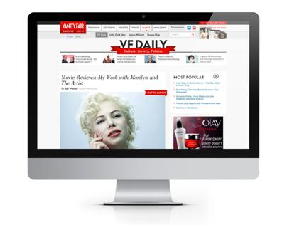 Vanity Fair Site Redesign