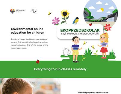Environmental education for children online