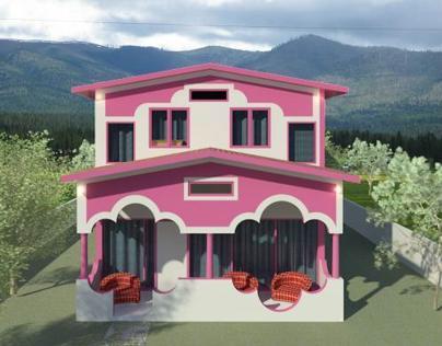 Effective land usage (3bedroom)