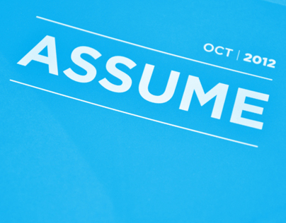 Assume Magazine Article