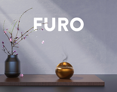 FURO brass oil burner