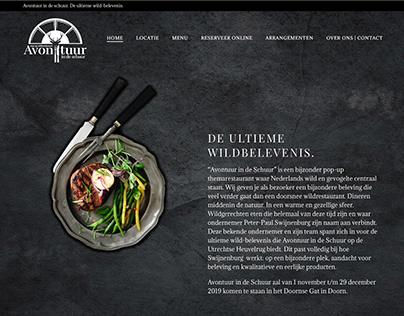 CMS website Avontuur in de Schuur