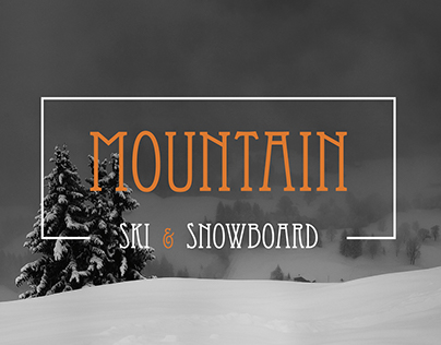 Mountain - ski & snowboard