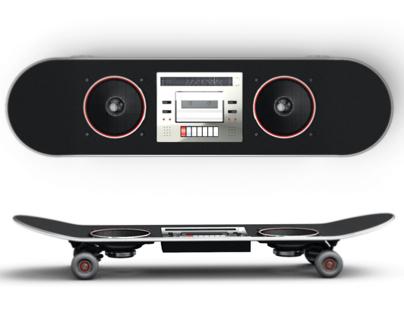 Skateboard Boombox