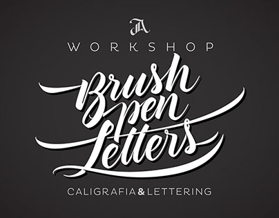 Workshop Brush pen Letters