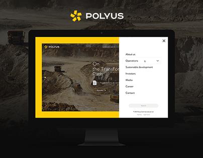 Polyus. Corporate website