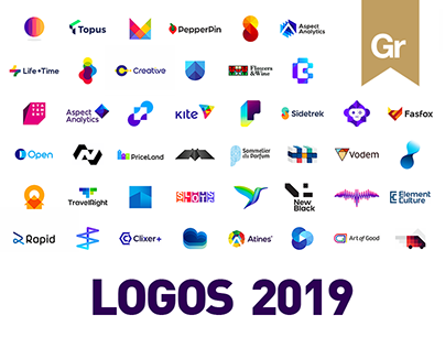 LOGO DESIGN projects 2019 - 2020