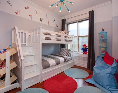 NYC- Shared boy/girl bedroom