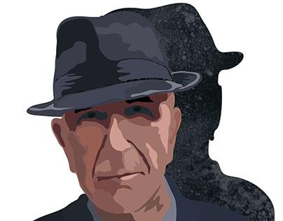 Leonard Cohen. Illustrations