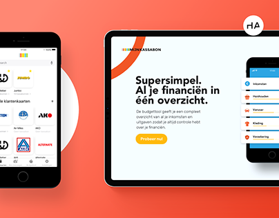 MijnKassabon - Website UX/UI