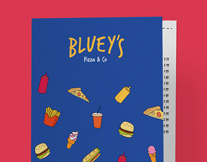 Bluey's Pizza & Co Rebranding