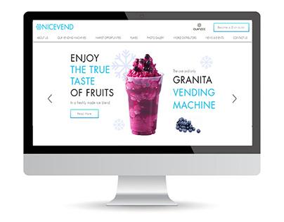 FoodTech Website Wix
