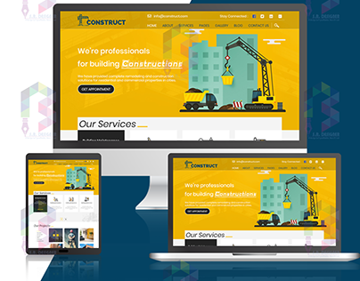 Website Design for Construction Company