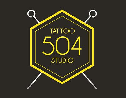 Brand Redesign - Studio 504