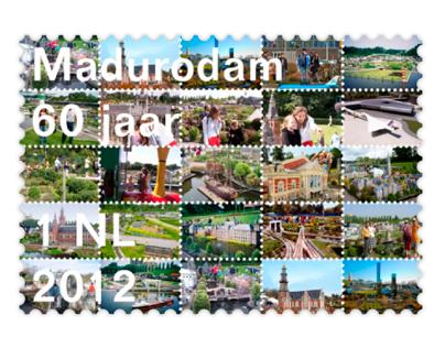 60 years Madurodam stamps
