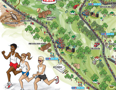 Maritzburg Marathon Poster