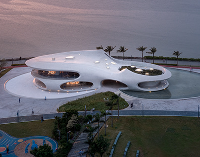 MAD Architects Completes The Cloudscape of Haikou