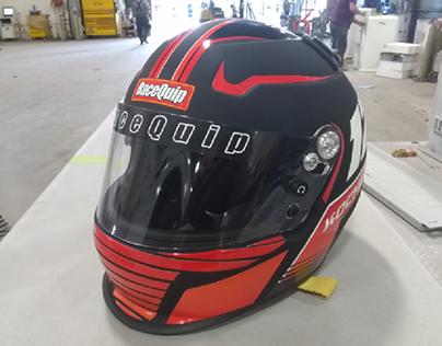 old School Future Racing Helmet