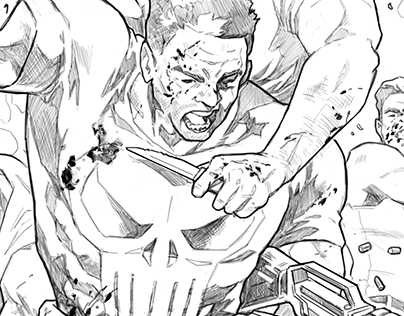 The Punisher (comic sample)