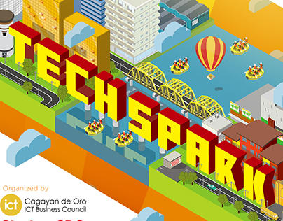 Techspark Illustration