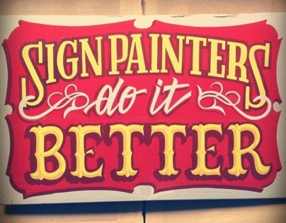 Sign Painting Colection