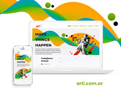 Arti. Make Things Happen
