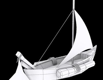 Low Poly Ship Model