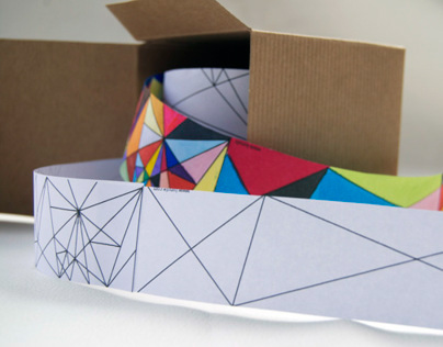 Colouring Tape-interactive design