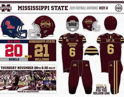 2019 Mississippi State Football Season Graphics