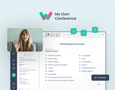MyOwnConference Redesign Concept