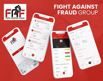 FAF - Fight Against Fraud App